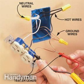 3625a6489447e4ba30c22997a0f470db electrical projects electrical wiring add an electrical outlet electrical outlets, outlets and easy 6 wire outlet diagram at pacquiaovsvargaslive.co