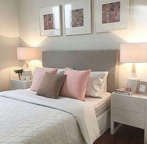 Schlafzimmer Weiss Grau Rosa Schlafzimmer Gestalten Wohnen Und