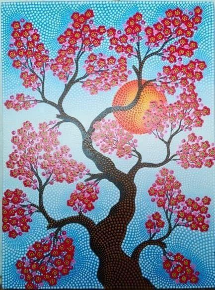 26 Lukisan Pohon Sakura Di Dinding 62 Gambar Abstrak Bunga Sakura Infobaru Download Jual Produk Hiasan Dinding Bunga Lukisan Pohon Lukisan Bunga Lukisan