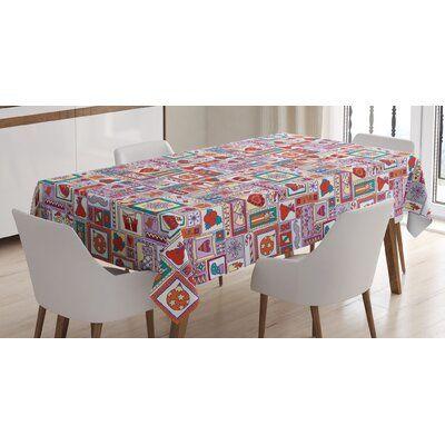East Urban Home Christmas Tablecloth Christmas Table Cloth Tablecloth Sizes Rustic Tablecloths
