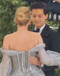 T — sprousehart-x:   Lili and Cole at the Met Gala