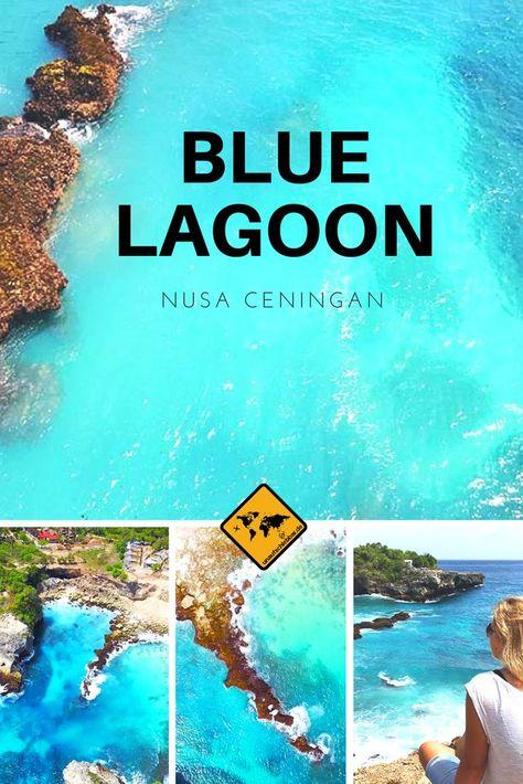 Die Blue Lagoon Nusa Ceningan ist ein wunderschön... - #Blue #Ceningan #die #ein #ist #Lagoon #Nusa #philippine #Wunderschön