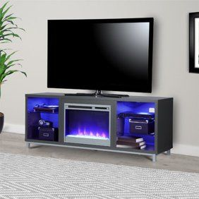 Home Fireplace Tv Stand Flat Screen Tv Stand Game Room