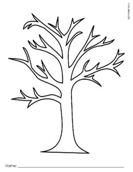 Family Tree Template Freebie Thankful Tree Tree Templates Tree
