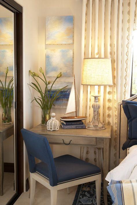 La Jolla Luxury Guest Bedroom 1 Robeson Design Sitting Room Interior Design Robeson Design Guest Bedroom Design #robeson #design #living #room