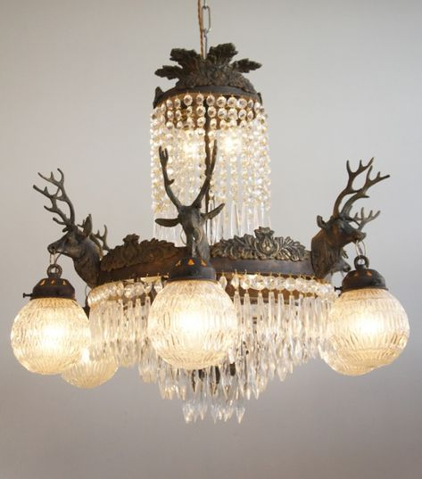 Savannah Antique Crystal Chandelier | Pottery Barn