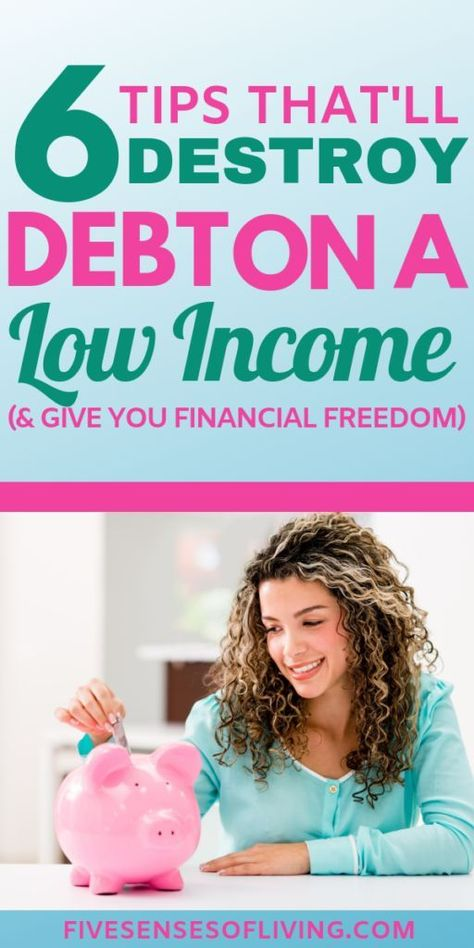 6 Money Management Tips To Destroy Debt And Create A Life of Freedom