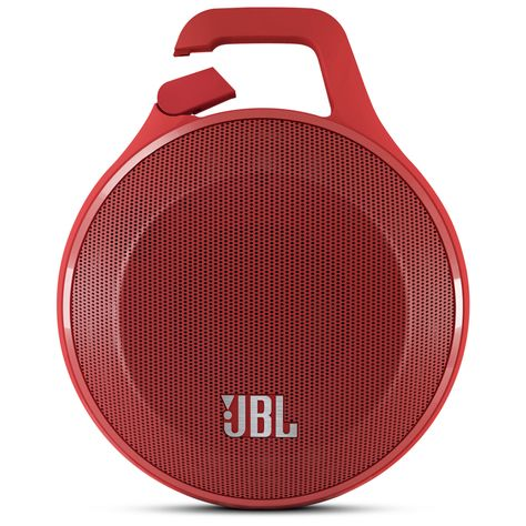 JBL Clip Portable Bluetooth Speaker With Mic - #Red | PCRichard.com | JBLCLIPRED