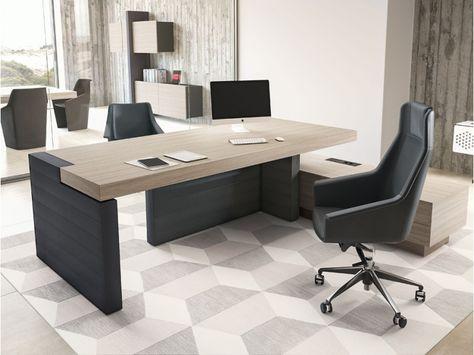Schreibtisch mit Sideboard FARO   Klassiker Direkt - Chefzimmer ...