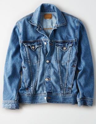 2541997cc AE Boyfriend Fit Denim Jacket   Emy Fashion   Jackets, Jackets for ...