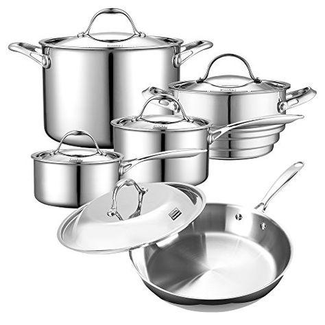 Authentic Cooku0027s Advantage 10 Pc Prep, Cook \ Serve Set for - prep cook
