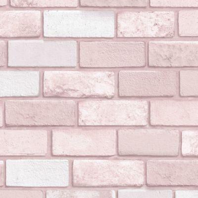 Arthouse Diamond Pink Brick Wallpaper Brick Wallpaper Glitter Wallpaper Pink Wallpaper