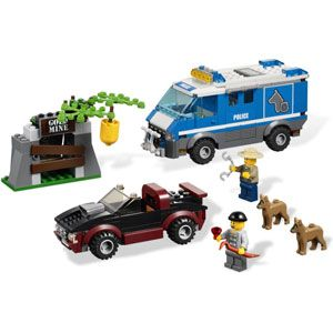 LEGO City Police Dog Van