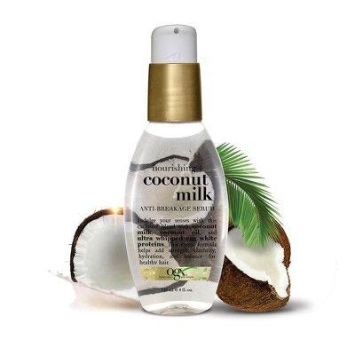Ogx Coconut Milk Anti Breakage Serum 4oz Ogx Coconut Milk