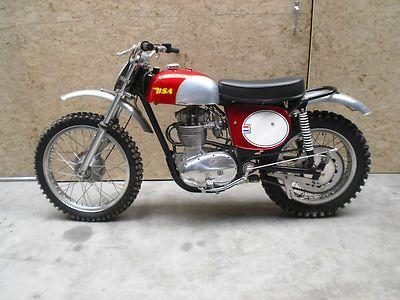 1968 BSA 441 Victor Special Frame no B44EVS5462 Engine no - bsa health form