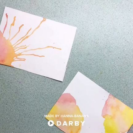 How To Make Your Own Diy Watercolor Cards For Your Next Event