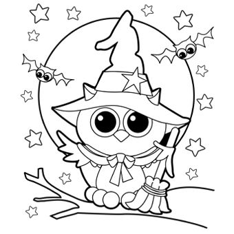 Coloring Pages For Halloween MIM5 Halloween Coloring Pages ...