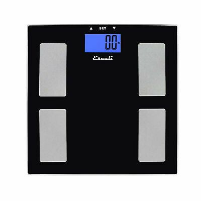 Sponsored Escali Digital Health Monitor Bathroom Scale 400lb X 0 2lb 180kg X 0 1kg Muscle Mass Scale Muscle
