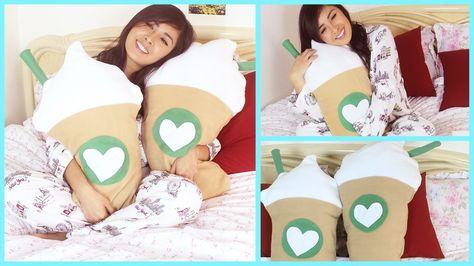 Diy Starbucks Pillow No Sew: DIY Room Decor • KitKat Pillow (No Sew) • heartcindy   Rclbeauty    ,