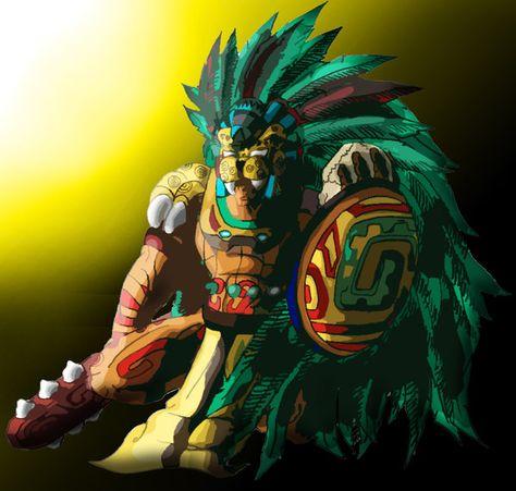 Jaguar Warrior by garudoz1.deviantart.com on @DeviantArt   Aztecas ...