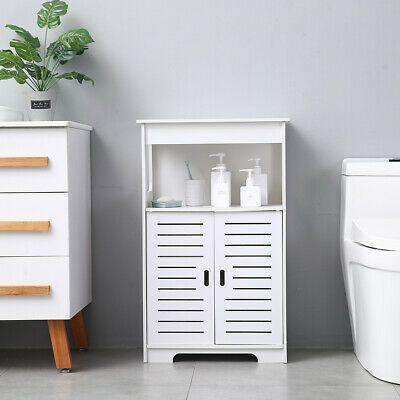Advertisement Bathroom Cabinet Freestanding Cupboard Drawer Storage 2 Doors 2 Co In 2020 Bathroom Floor Storage Bathroom Floor Storage Cabinet Wooden Storage Cabinet
