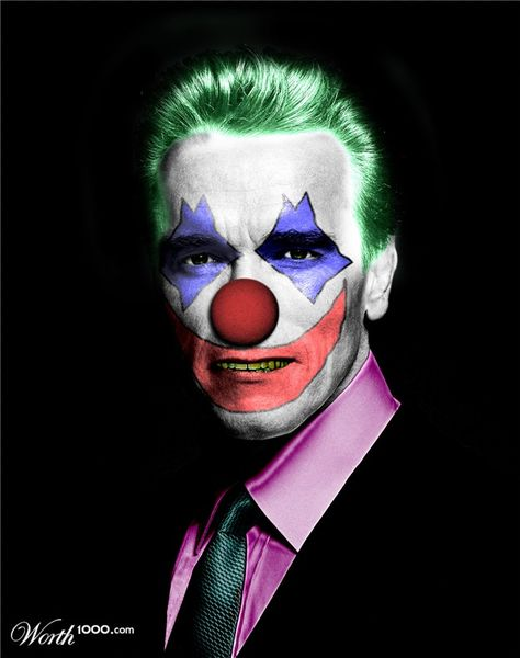 Evil Celebrity Clowns 3 - Worth1000 Contests