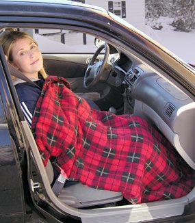 Car Heated Electric Blanket For Commutes To Work