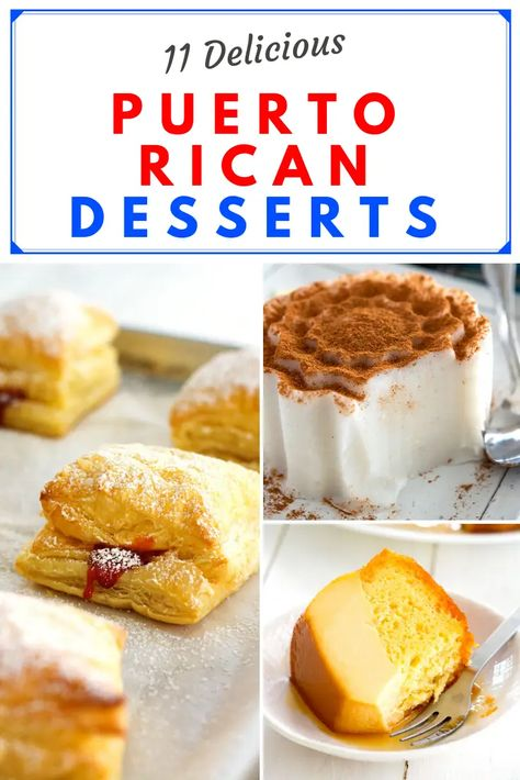 The BEST Puerto Rican Desserts – everything from guava sweets to summer snacks to traditional Christmas recipes! The BEST Puerto Rican Desserts – everything from guava sweets to summer snacks to traditional Christmas recipes! Puerto Rican Dessert Recipe, Puerto Rican Recipes, Mexican Food Recipes, Sweet Recipes, Puerto Rican Dishes, Puerto Rican Quesitos Recipe, Pasteles Puerto Rico Recipe, Guava Recipes, Plantain Recipes