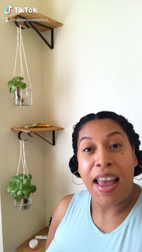DIY shelves & plant hangers
