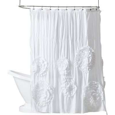 Westendorf Cascading Waterfall Single Shower Curtain Shower