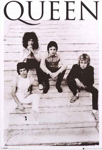 Queen Band Poster