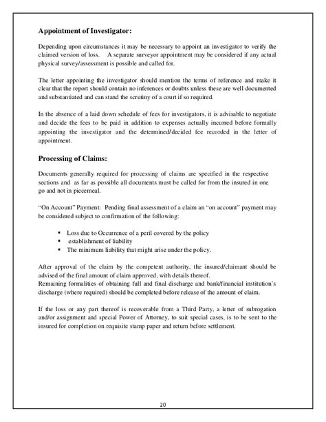 accident intimation letter insurance company stabnet sample - resume declaration format
