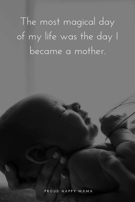 These beautiful baby quotes and sayings are sure to inspire any new mom and are perfect for a nursery. Discover more newborn, expecting, and motherhood quotes. #momquotes #newbornquotes #motherhoodquotes #babyquotes