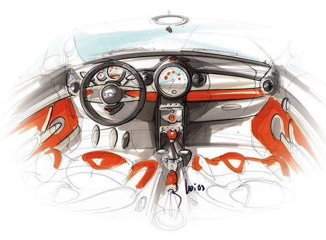 Car Interior Sketches Interior sketch, Car interior sketch and - gebrauchte küchen frankfurt