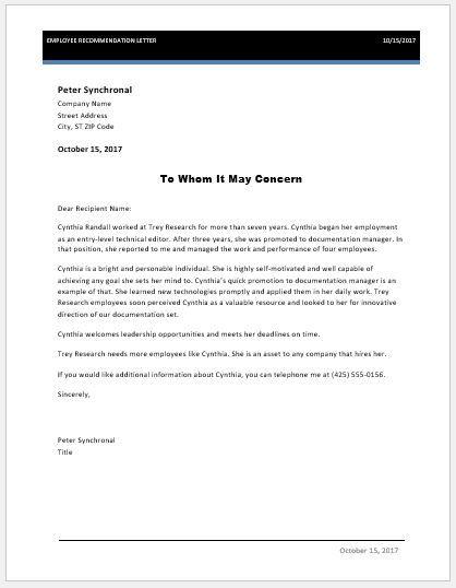 Employee-recommendation-letter-3jpg (418×538) References Pinterest
