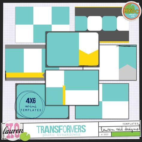 4x6 templates