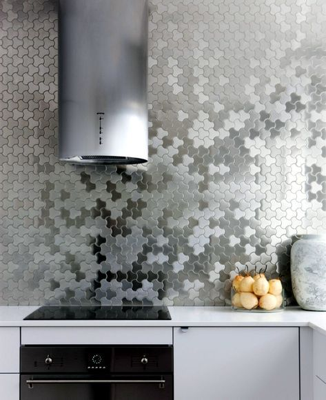 Splash guard for the kitchen - 85 new ideas for the back of ...