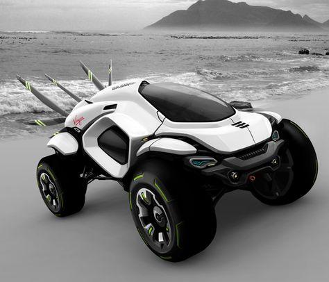 Husser-Dakar-Rally-Concept Ce « concept car » pourrait bien être un aperçu de l'avenir du rallye raid? Le designer Klaud Wasiak a créé le hussard Dakar Rally inspiré de l'uniforme de cavalerie polonaise avec les ailes du 18ème siècle, donnant à ce véhicule une structure dramatique, entre esthétique et fonctionnalité.