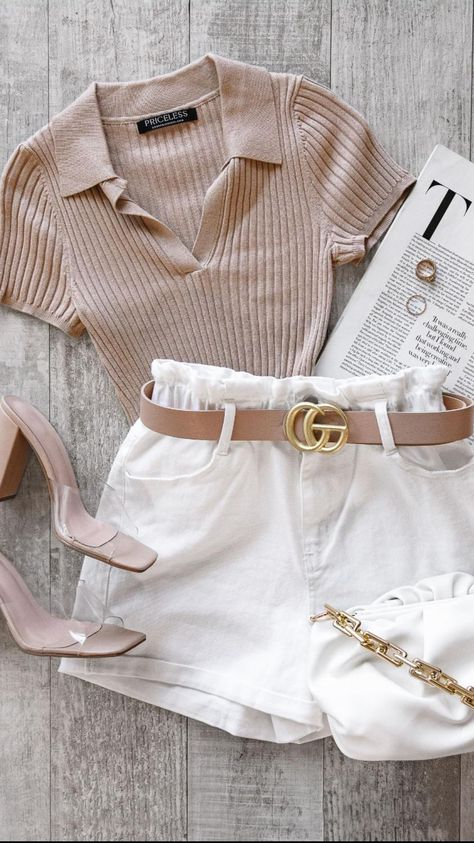 4 Neutral Outfits to Wear on the Weekend