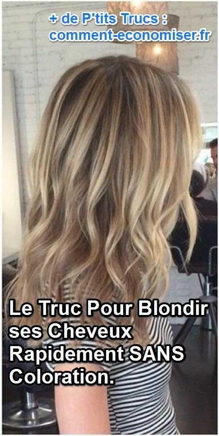 Comment blondir les cheveux naturellement