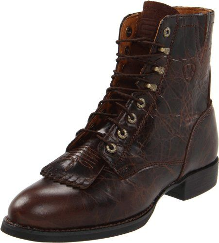 Ariat Women`s Heritage Lacer ll Boot,Chocolate Chip