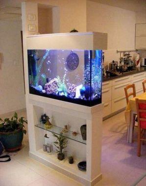 55 Wondrous Aquarium Design Ideas For Your Extraordinary Home Decoration Aquarium Decoration Design Home Interior Aquarium Design Design Inspired Homes