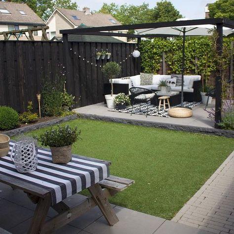 28 idées de design de jardin pour créer l'espace de vos rêves  #creer #design #espace #idees #jardin #reves