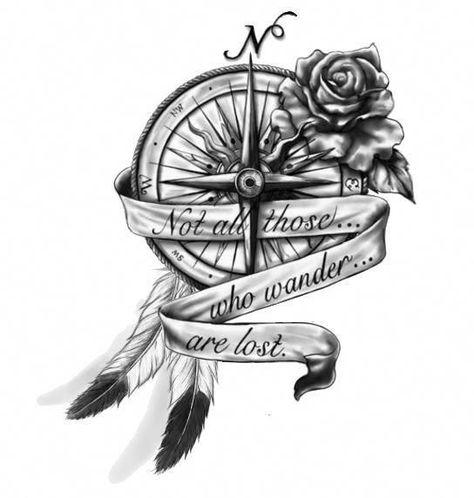 #greattattoosforgirls   - Compass tattoo - #Compass #greattattoosforgirls #Tattoo