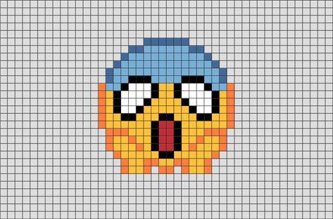 Emoji Pixel Art Dessin Pixel Dessin Pixel Facile Et Pixel Art