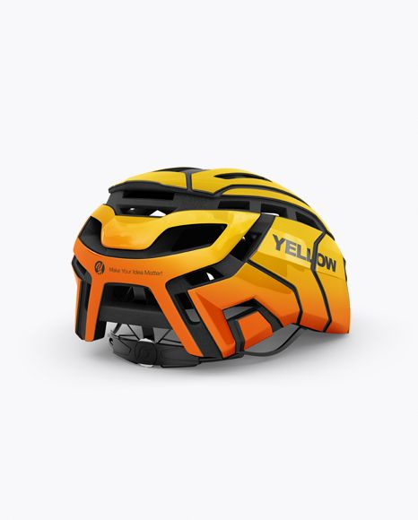 Download Cycling Helmet Mockup Half Side View In Object Mockups On Yellow Images Object Mockups Mockup Free Psd Psd Mockup Template Mockup Psd