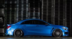 Mercedes-Benz CLA Gets The Wide-Body Treatment By Fairy Design [w/Video] | Carscoops