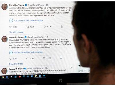 ماذا قال ترامب عن الإجراء السابق من تويتر بشأن تغريداته الخليج Blog Posts Blog Trump