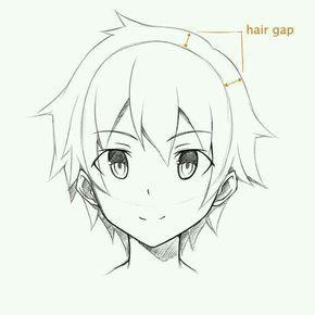 Como Desenhar Personagens De Anime De Maneira Facil Gostaria De Aprender A Desenhar Seus Personagens Favor Desenhando Esbocos Desenhos De Anime Cabelo De Anime