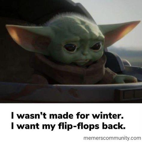 Baby Yoda Needs